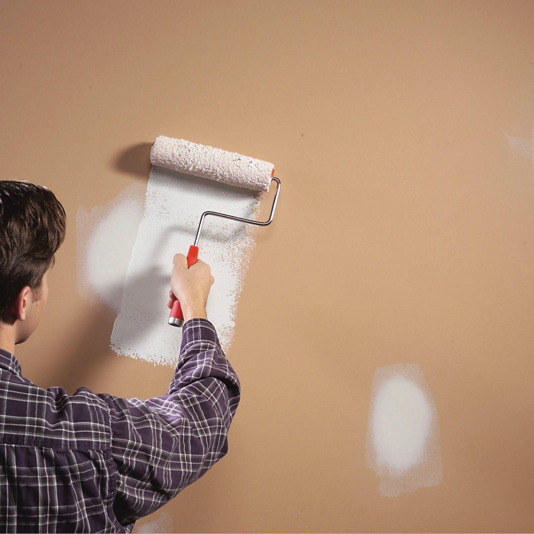 Repairing wall paint
