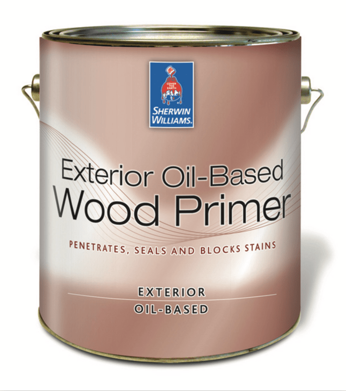 Wood Primer can