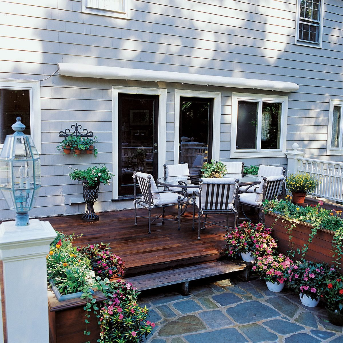 How To Shade Your Deck Or Patio With A Diy Awning Family Handyman