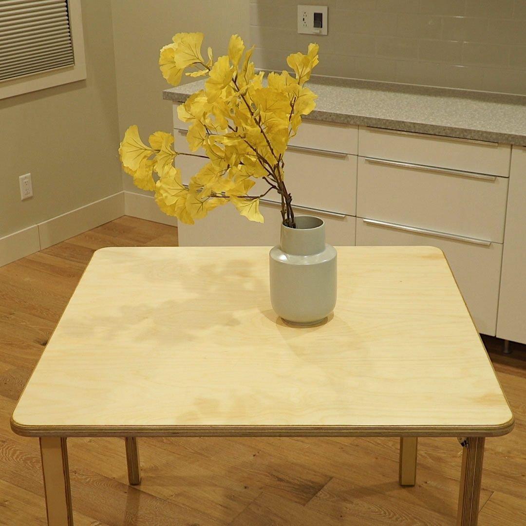 How To Build An Easy Diy Folding Table Family Handyman