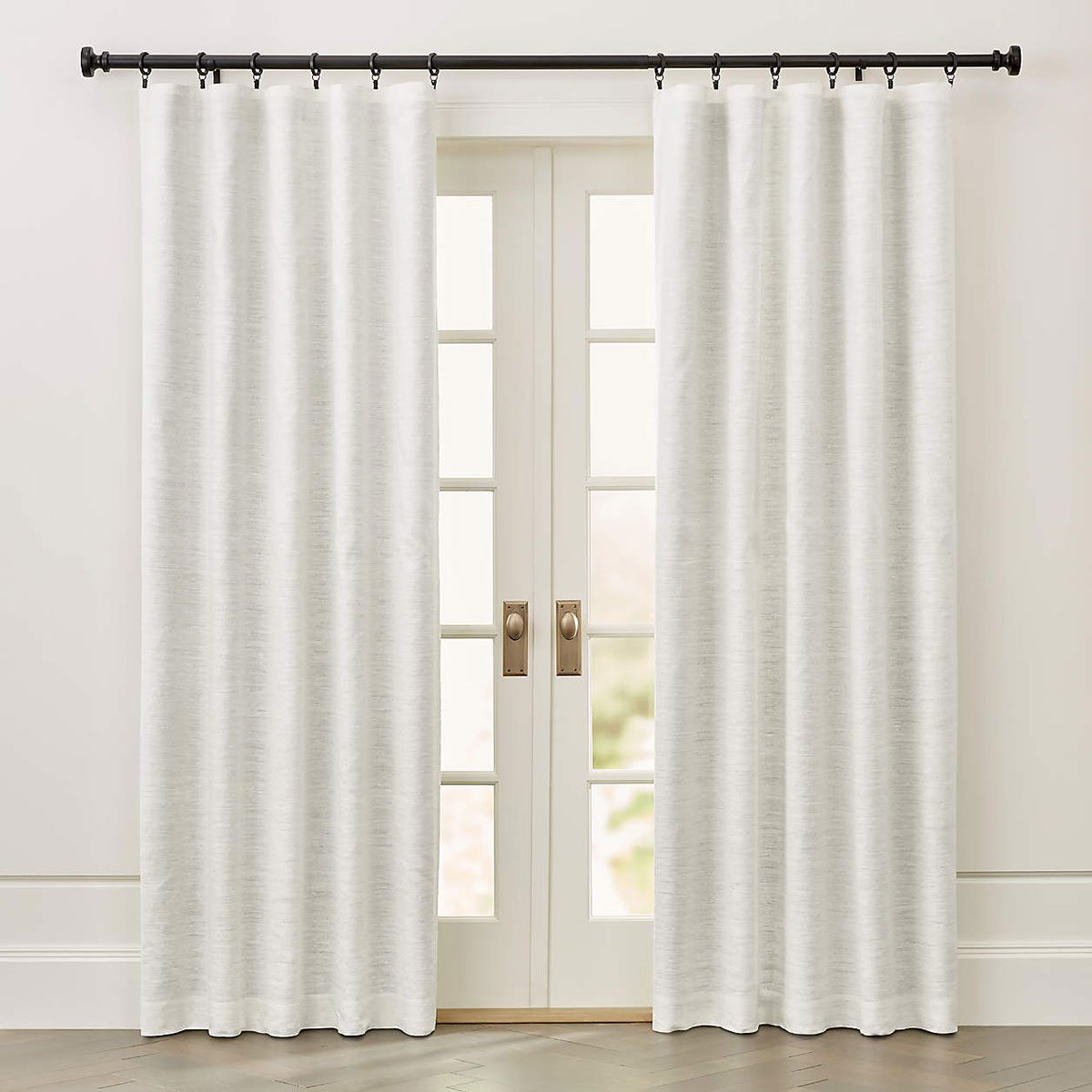 ivory silk blackout curtains