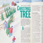 Vintage Family Handyman Project from 1988: The Perfect Christmas Tree