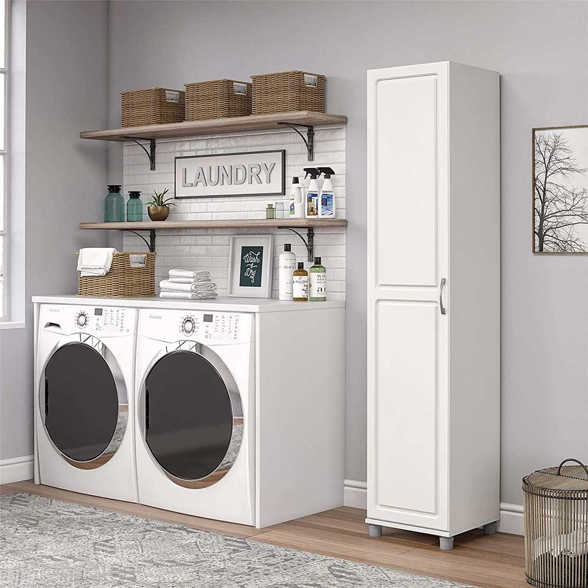 laundry cabinet
