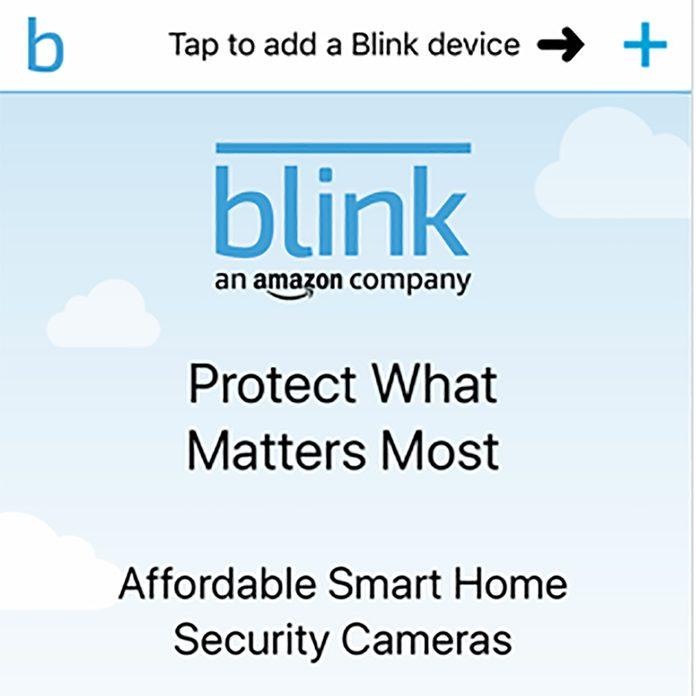 Blink Add Device