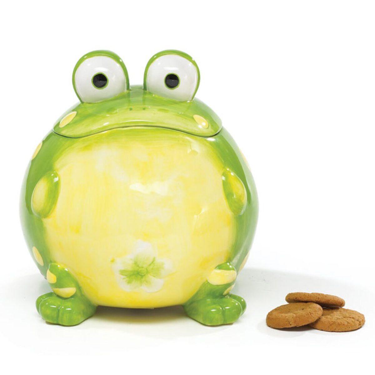 toad cookie jar Ceramic+toby+toad+105.8+qt.+cookie+jar