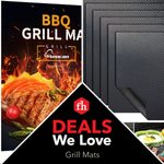 Deals We Love: Genius Non-Stick Grill Mats
