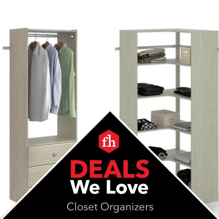 Deals We Love Closet Organizers