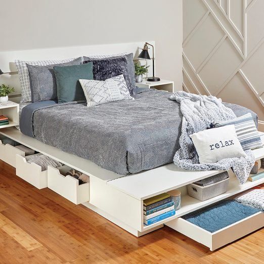 Super Spacious Storage Bed Family, Bed With Under Storage