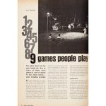 Vintage Backyard Games Projects from 1970