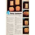 Vintage Family Handyman Feature from 1982: How to Make a Party Lantern