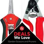 Deals We Love: Garden Scissors and Pruners