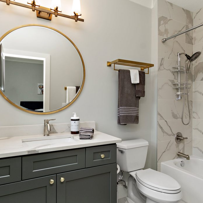 The Best Colors For Small Bathrooms, Bathroom Paint Colors For Small Bathrooms 2021