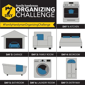 Join the Family Handyman 7-Day Organizing Challenge!