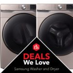Deals We Love: Samsung Washer and Dryer