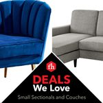 Deals We Love: Sectionals and Couches for Small Spaces