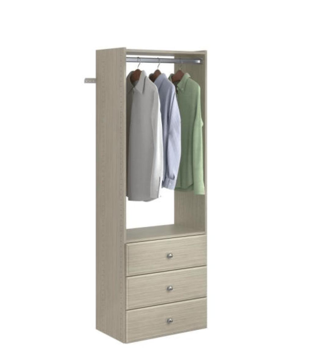 Wood Closet Tower
