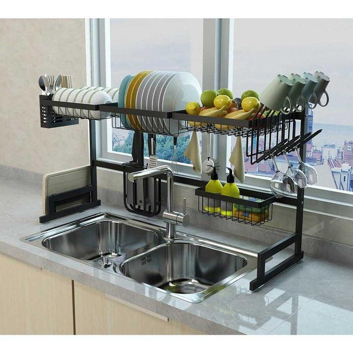 modern dish rack