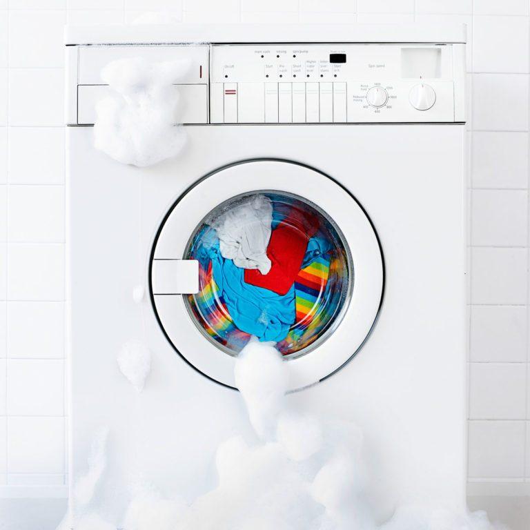 Washing machine overflowing