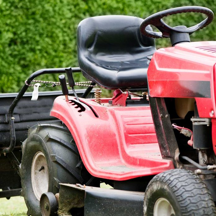 Lawn Tractor Seat Gettyimages 495745807