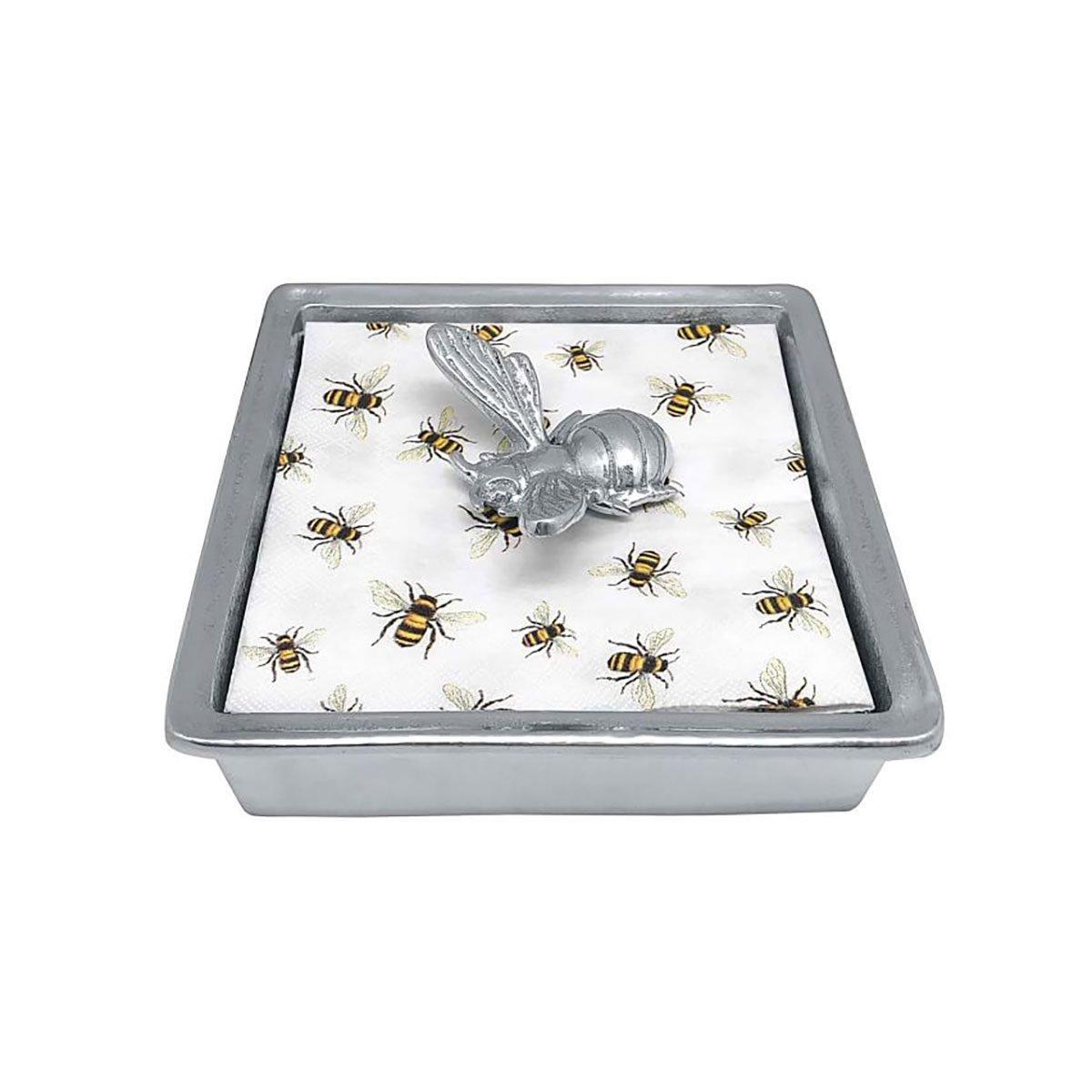 Napkin Holder Honey Bee Recycled Metal Napkin Holder With Napkins O