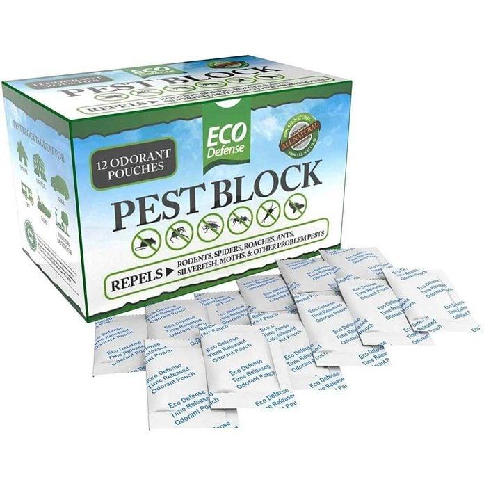 Pest control pouches
