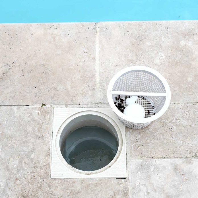 Pool Skimmer Basket Gettyimages 1268857586