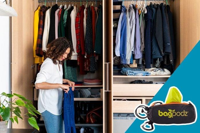 clean out closet