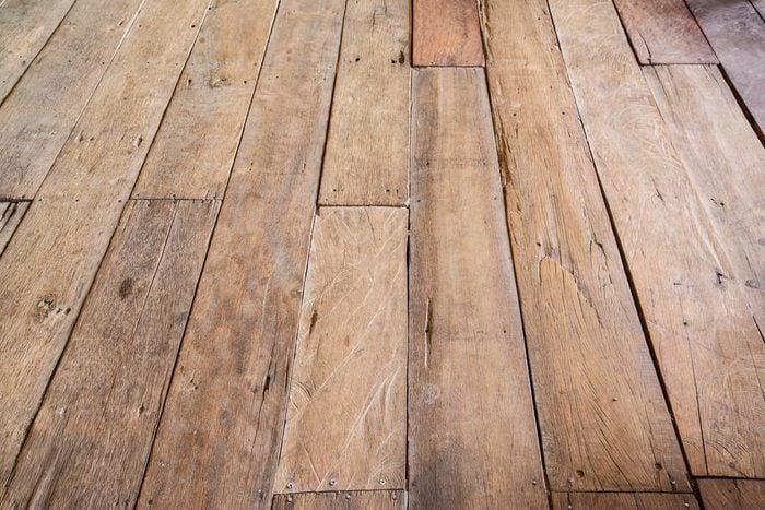 Vintage wood floor, Wood background.