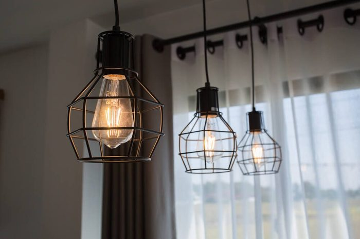 Vintage luxury interior lighting lamp for home decor.