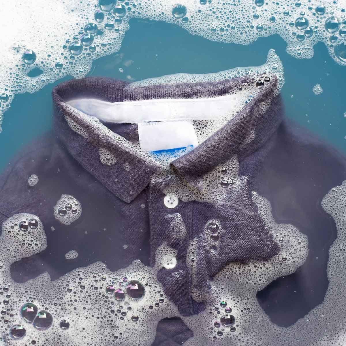 Wet clothes