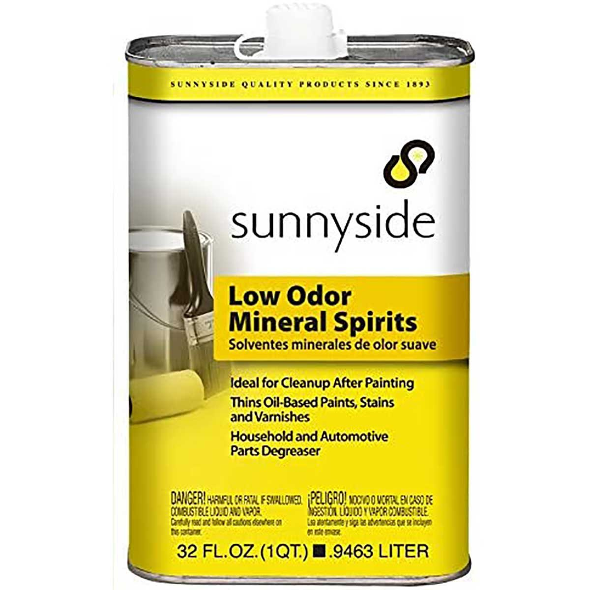low odor mineral spirits