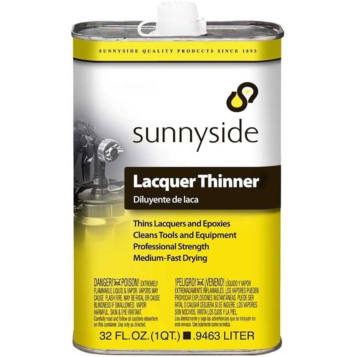 sunnyside lacquer thinner