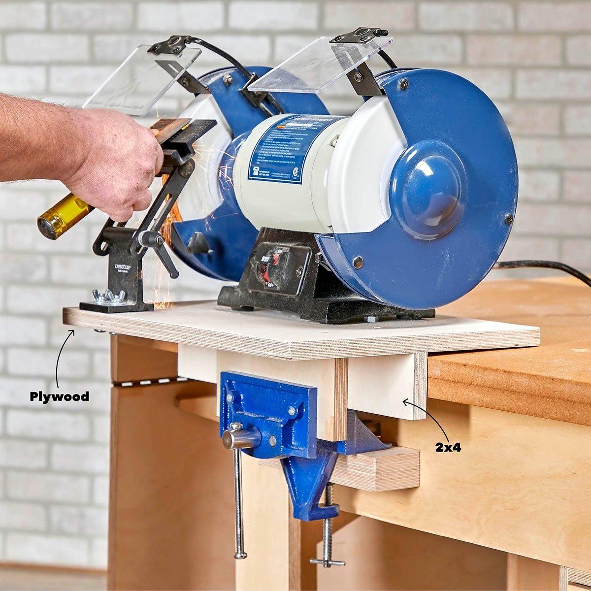 Make a portable tool mount