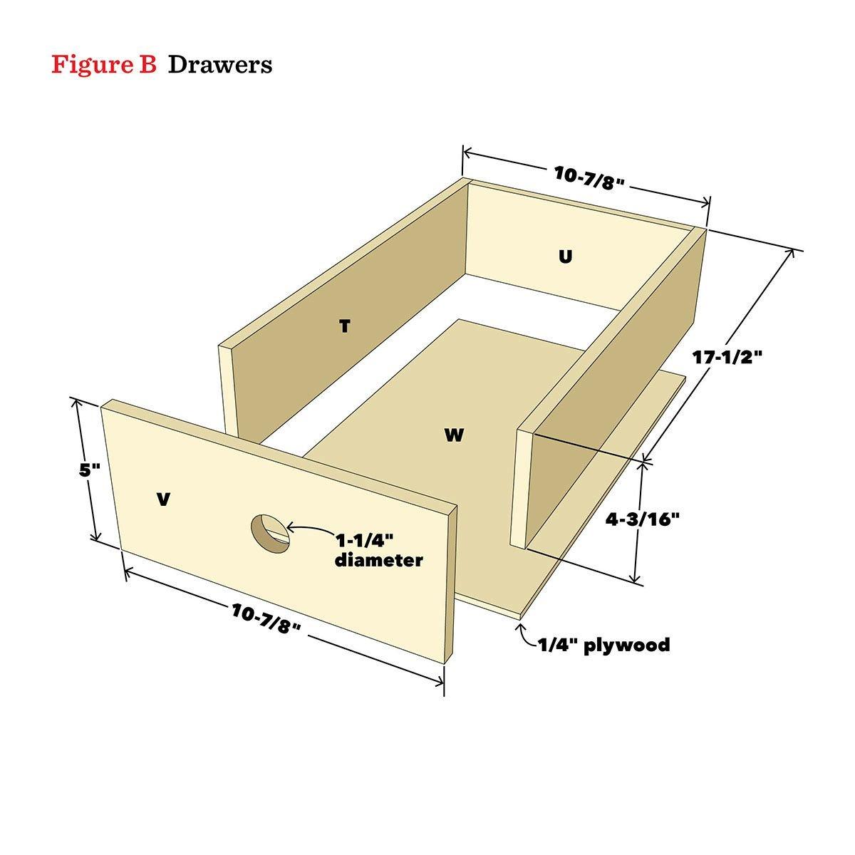 drawer diagram