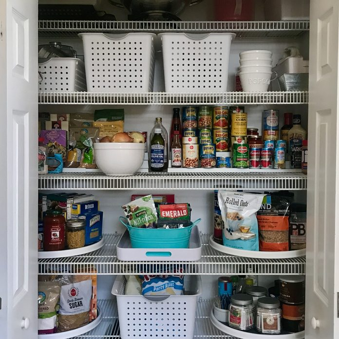Overview of pantry