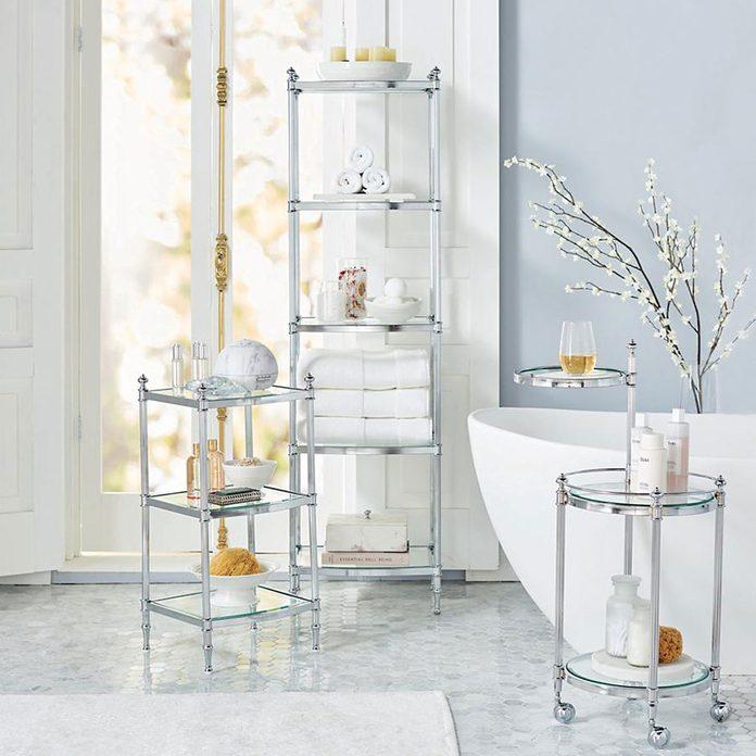 10 Best Bathroom Carts For Maximizing, Rolling Bathroom Cart