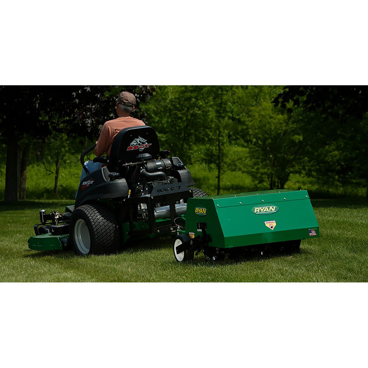 Lawn Aerator Lawnaire Tow Behind2