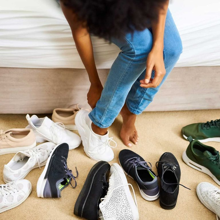Messy Shoes Gettyimages 618337428