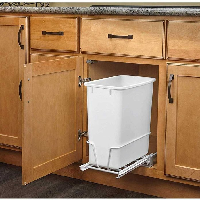 8 Best Pull Out Trash Cans For Your, Kitchen Cabinet Trash Can Dimensions