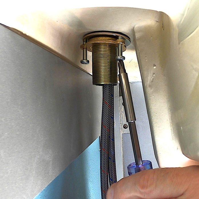 Smart Faucet Locknut