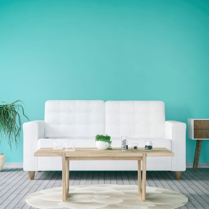 Turquoise Living Room Gettyimages 838177400