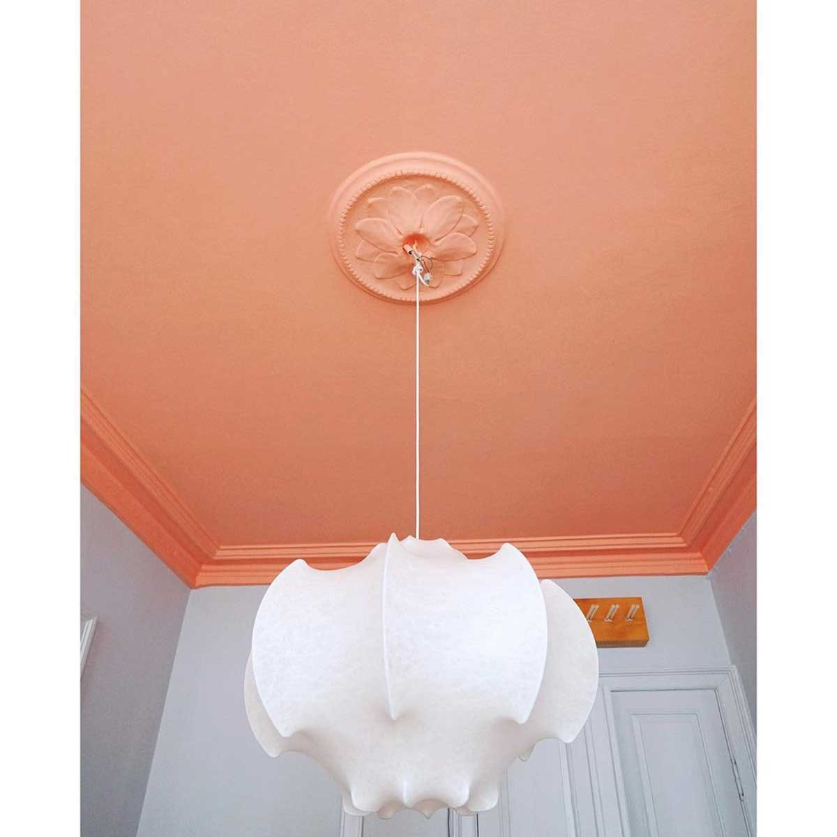 peach ceiling paint