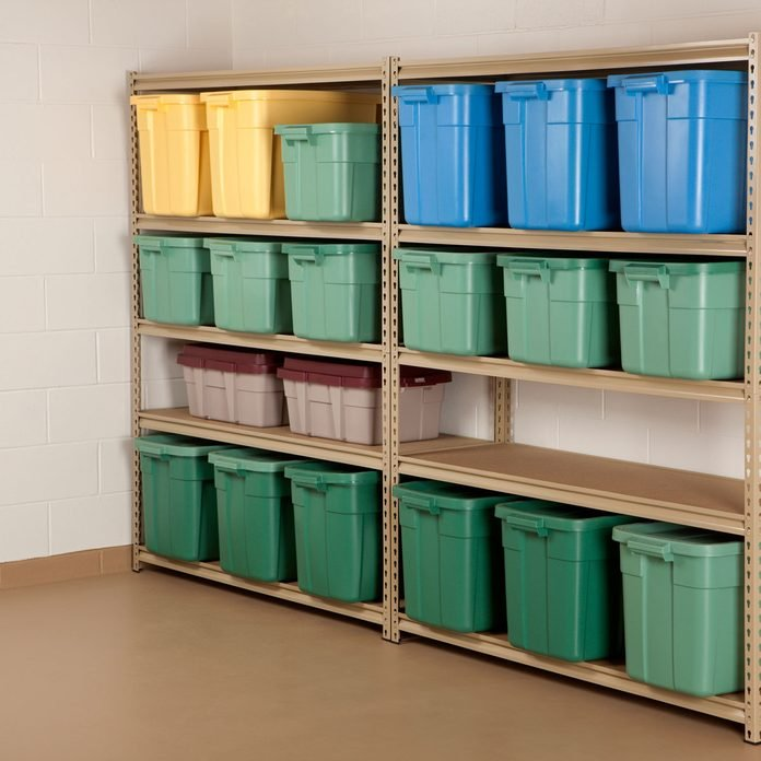 Basement Storage Totes