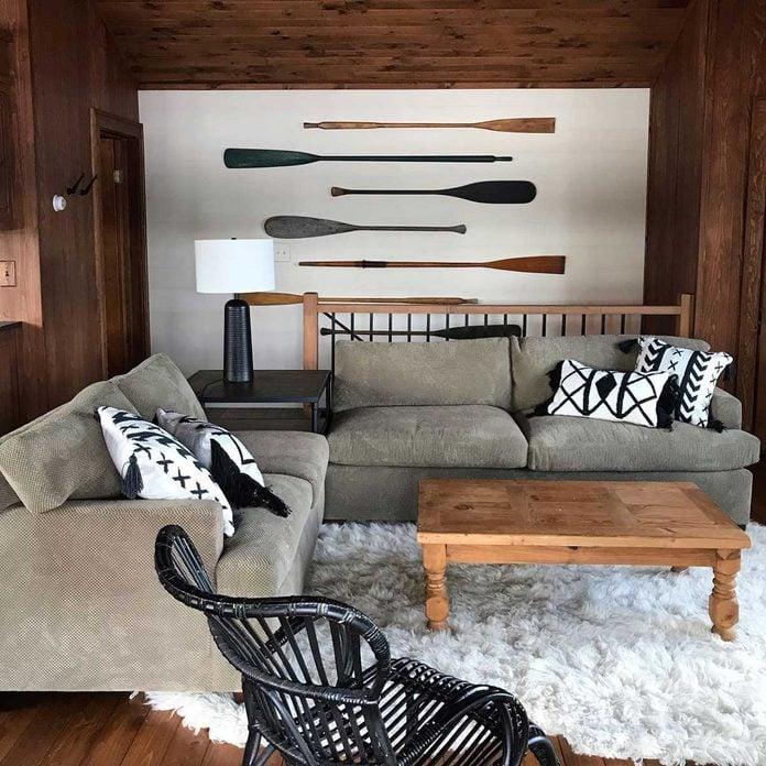 Cabin wall art