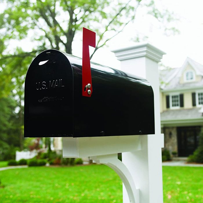 Painted Mail Box