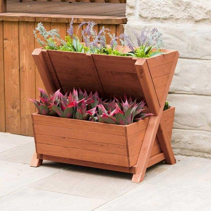 Tiered Flower Box