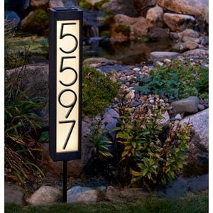 How to Make Solar-Powered House Numbers