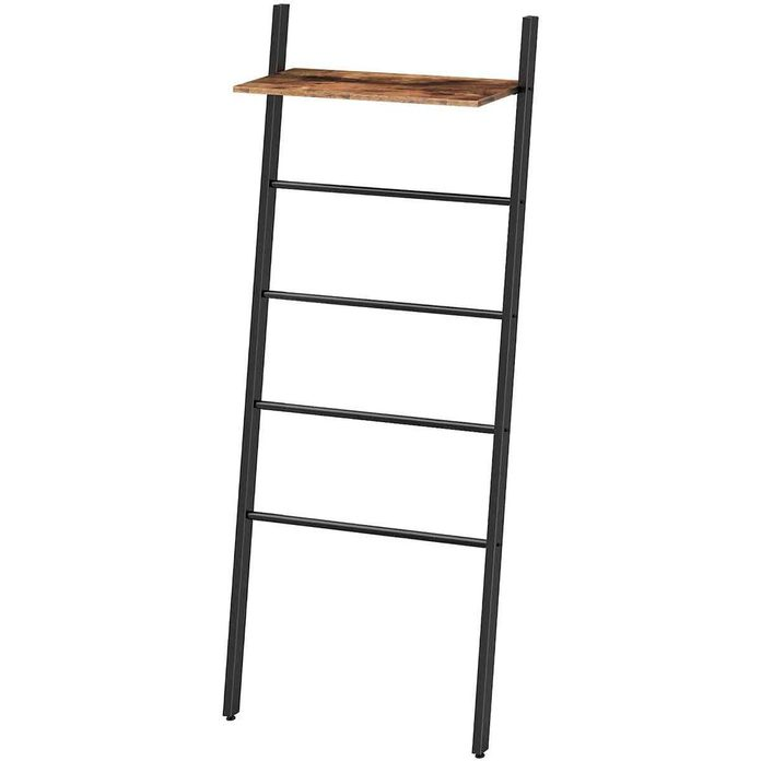 blanket ladder with shelf