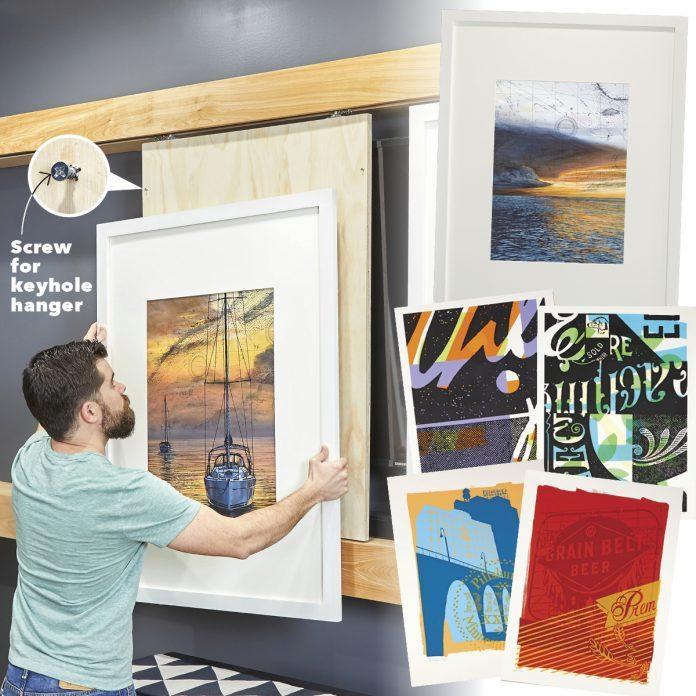 Hang Your Artwork