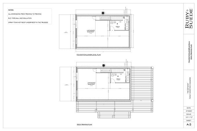 Getaway Deck Blueprint